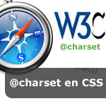 Charset en CSS con Safari
