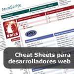 Cheat Sheets para desarrolladores web