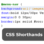CSS Shorthands
