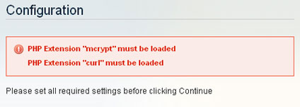 curl-mcrypt-must-be-loaded