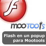 Multibox: flash en un popup para Mootools