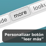 """Personalizar boton """"leer más"""""""